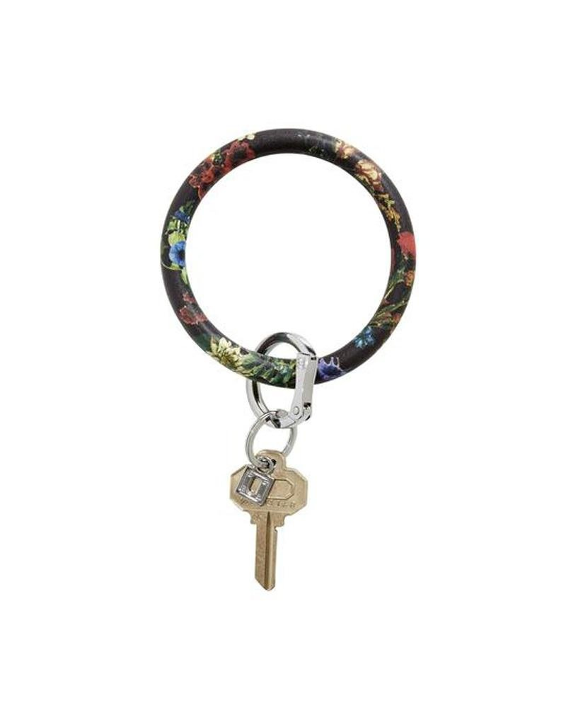 O-Venture Big O Key Ring - Patterns and Prints Leather