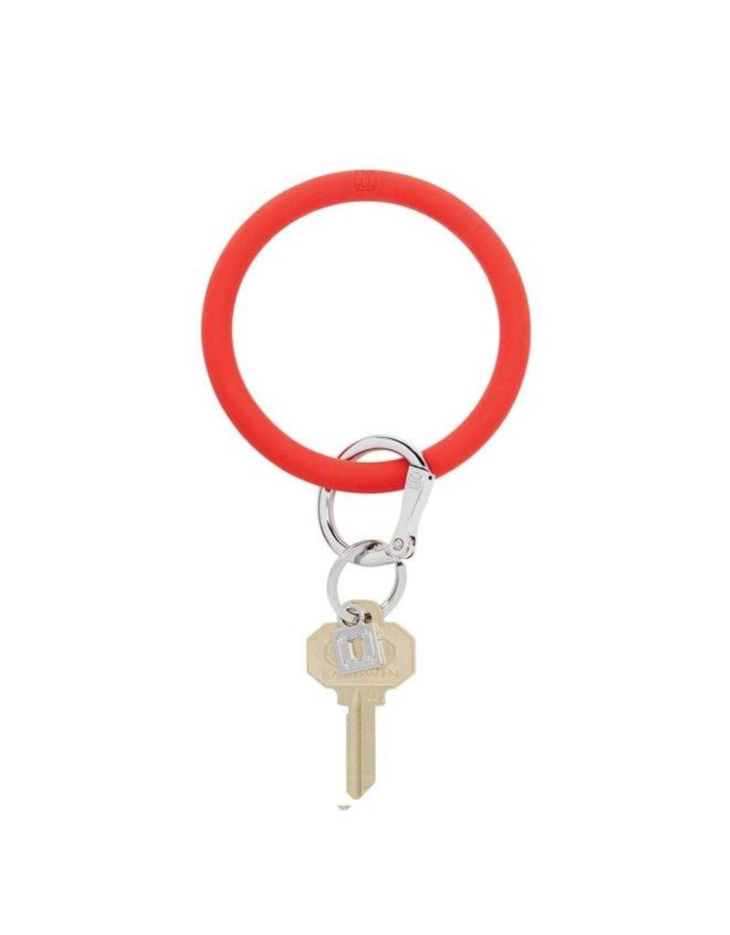 O-Venture Big O Key Ring - Solid Silicone