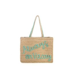 Shiraleah Always On Vacay Tote - Natural