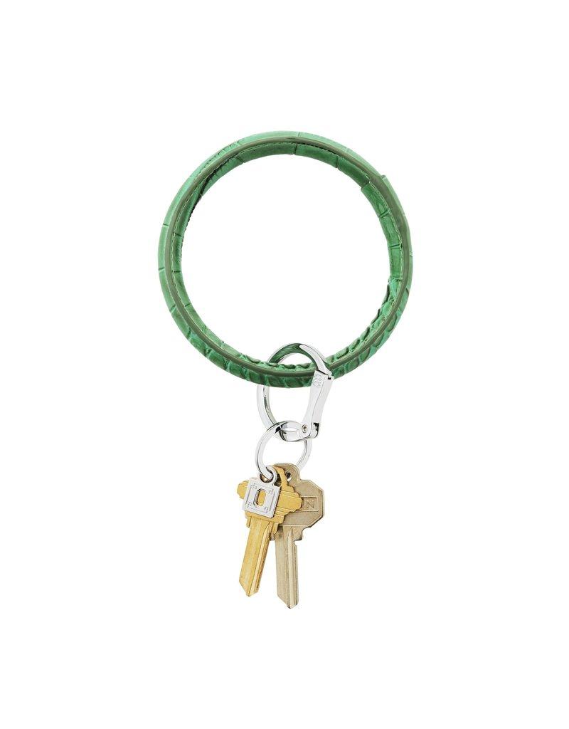 O-Venture Big O Key Ring - Croc Leather