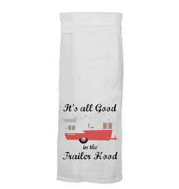 Twisted Wares All Good In The Trailer Hood Towel (Red)