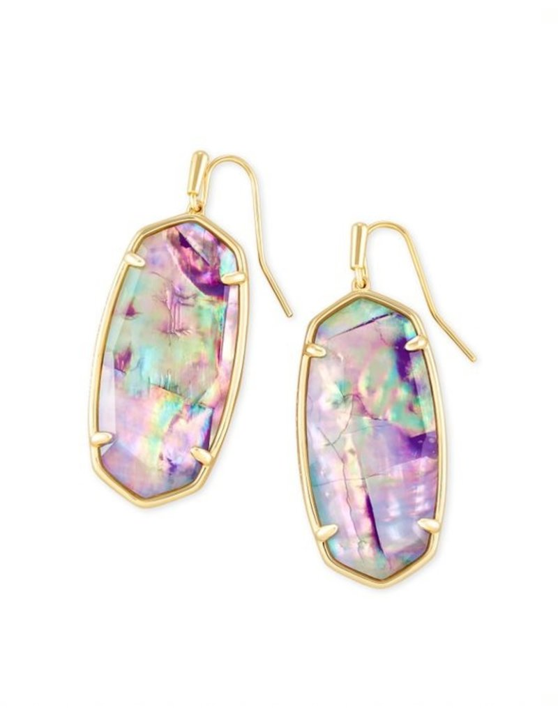 Kendra Scott Faceted Elle Earring - Seasonal Colors