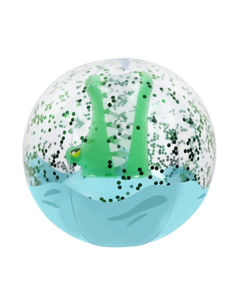 Sunnylife Croc 3D Inflatable Beach Ball