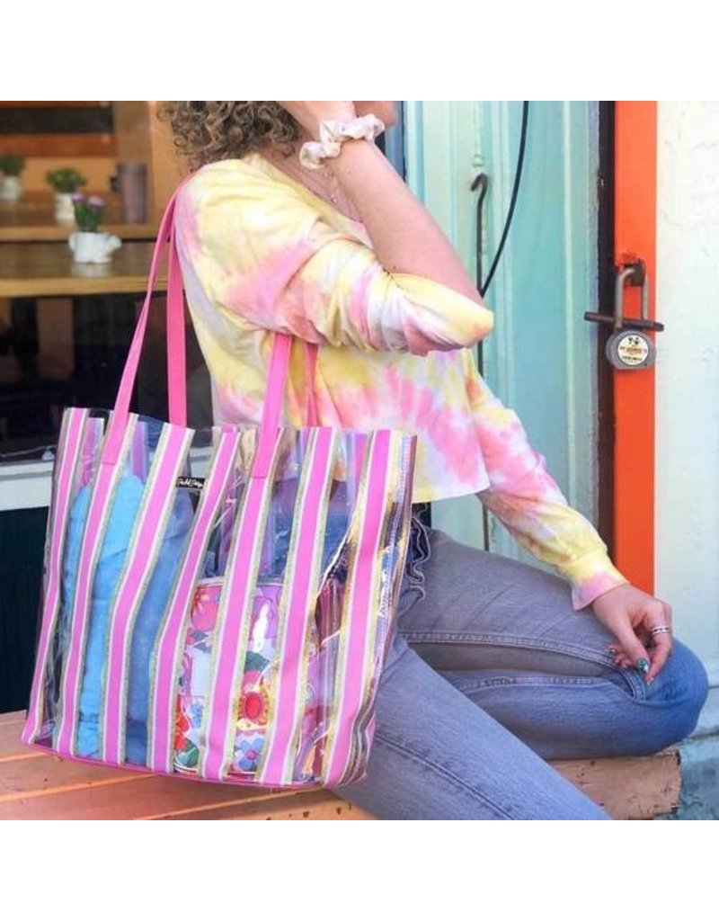 Packed Party Stripe Here, Stripe Now Bag