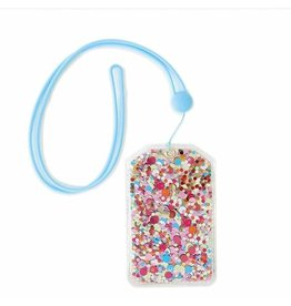 Packed Party Confetti Lanyard ID Holder