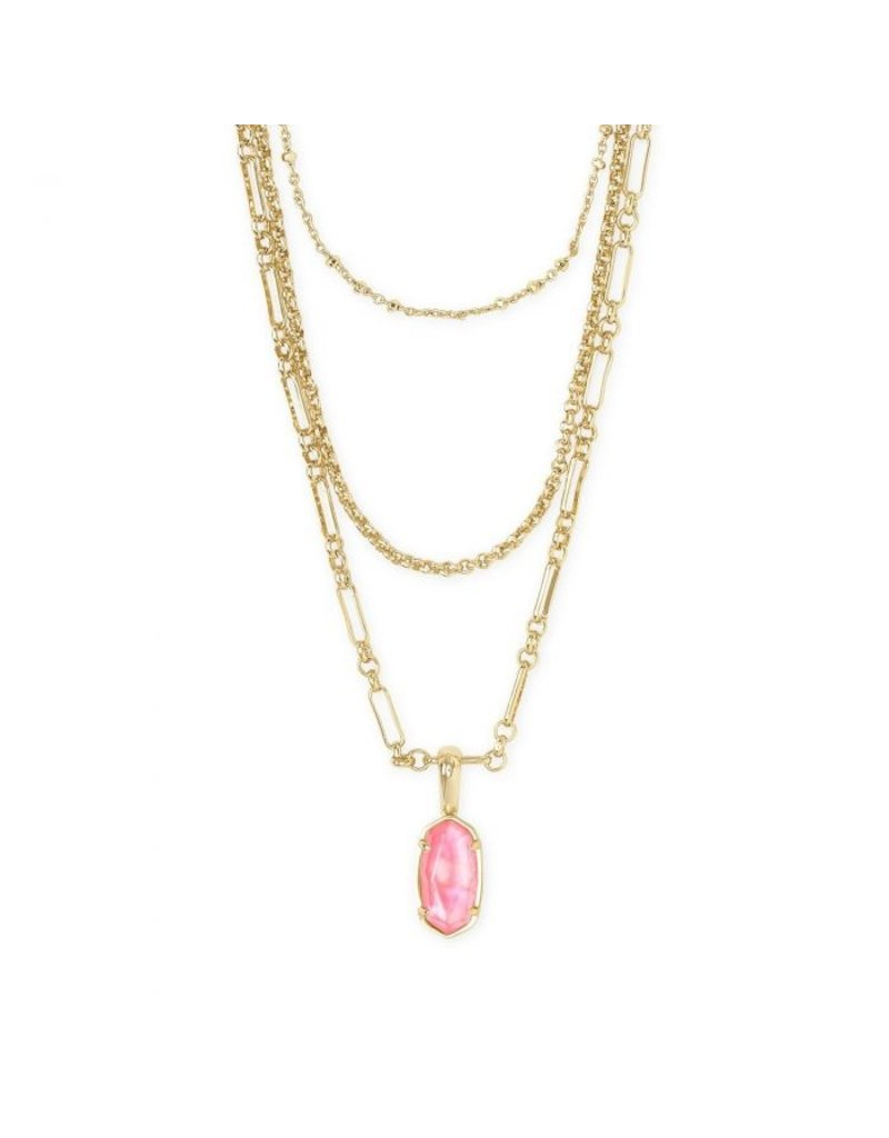 Kendra Scott Elisa Triple Strand Necklace