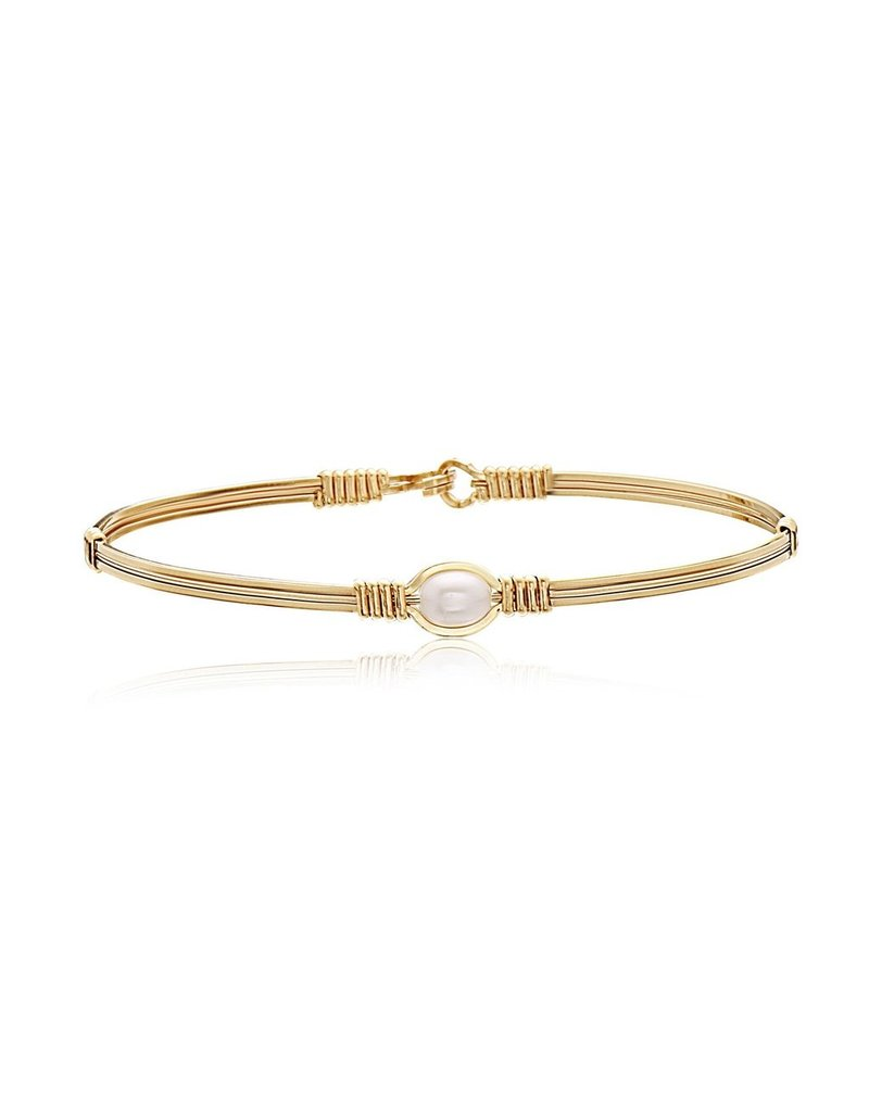 Ronaldo Designer Jewelry Breathe Bracelet-Pearl