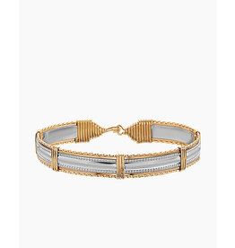 Ronaldo Designer Jewelry Dome Bar Bracelet