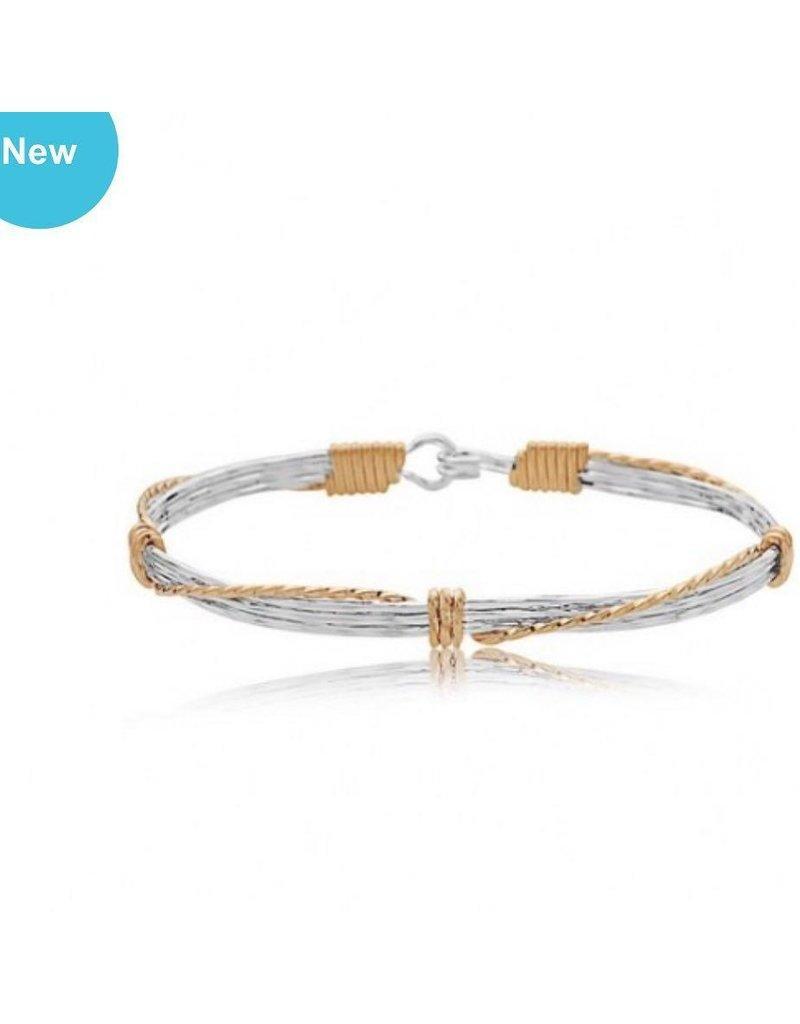 Ronaldo Designer Jewelry Leap of Faith Bracelet