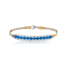 Ronaldo Designer Jewelry Thin Blue Line Bracelet