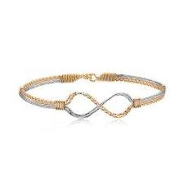 Ronaldo Designer Jewelry Infinity Bracelet