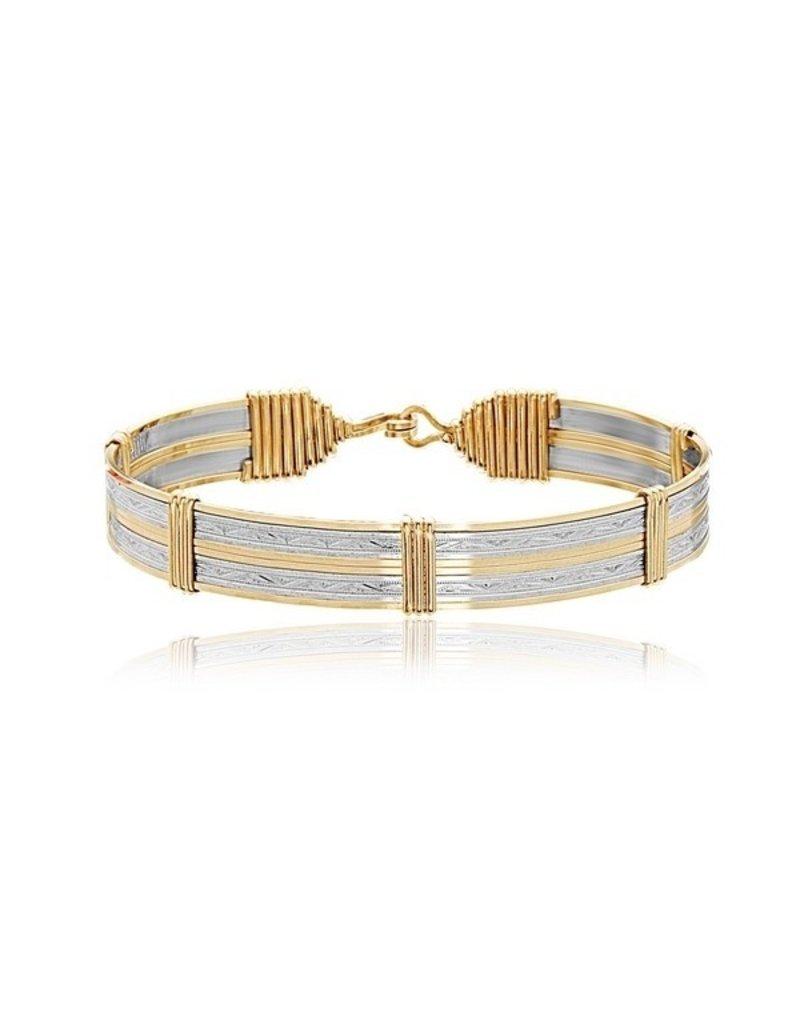 Ronaldo Designer Jewelry Inner Beauty Wide Bracelet