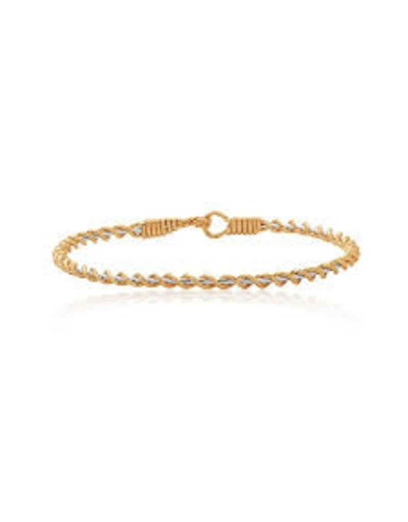 Ronaldo Designer Jewelry Serenity Bracelet - Two Tone