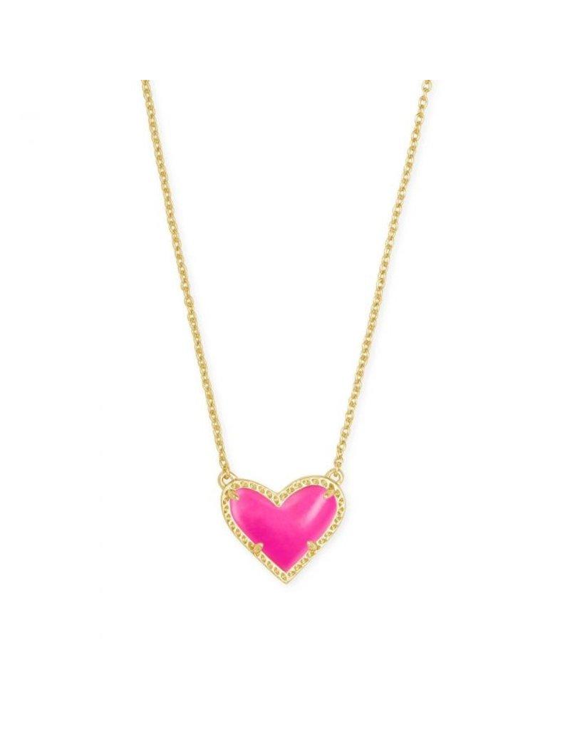 Kendra Scott Ari Heart Short Pendant