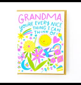 Every Nice Thing Grandma Card
