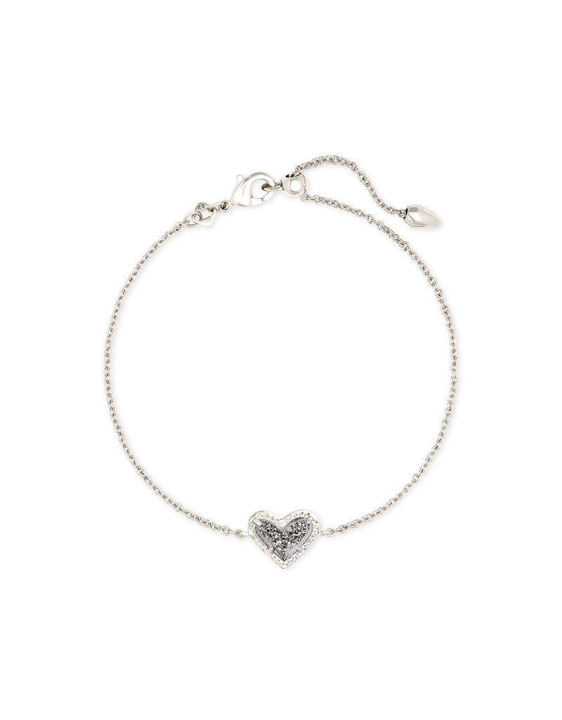 Kendra Scott Ari Heart Delicate Bracelet - Drusy
