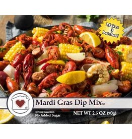 Country Home Creations Mardi Gras Dip Mix