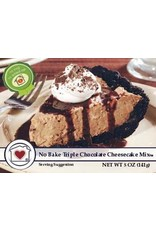 Country Home Creations No Bake Triple Chocolate Cheesecake Mix