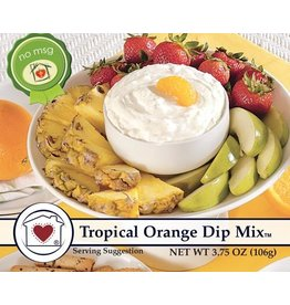 Country Home Creations Tropical Orange Dip Mix