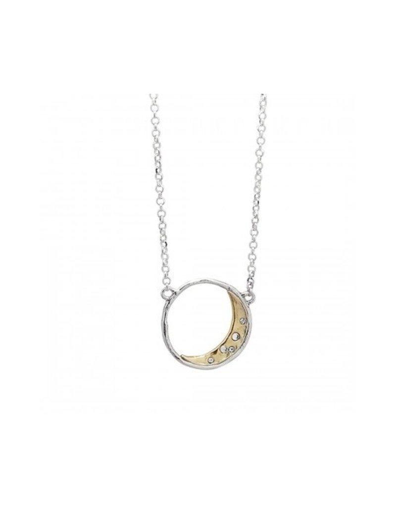 Waxing Poetic Otherworld Necklace - Moon
