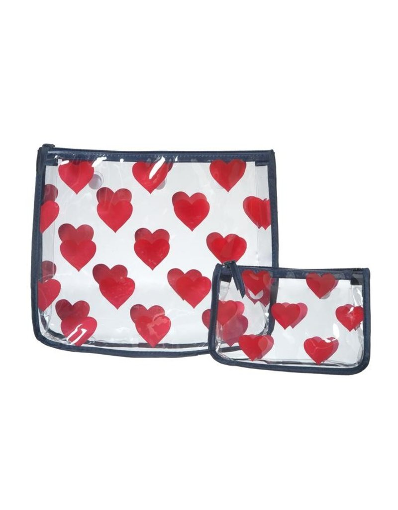 Bogg Bag Insert Bags - Red Hearts
