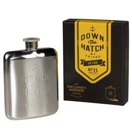 Wild and Wolf Inc. Hip Flask 6OZ