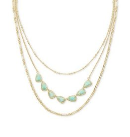 Kendra Scott Susanna Triple Strand Necklace - Seasonal