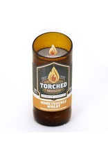 Torched Products Beer Bottle Candle-Honeysuckle
