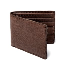 Mission Mercantile Campaign Leather Bifold Wallet