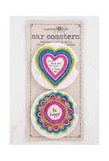 Natural Life Car Coaster Set/2