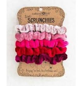 Natural Life Velvet Scrunchie Set/5