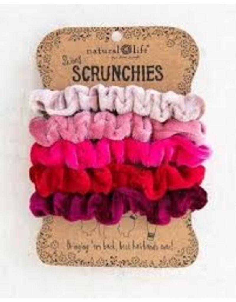 Natural Life Velvet Scrunchie Set/5