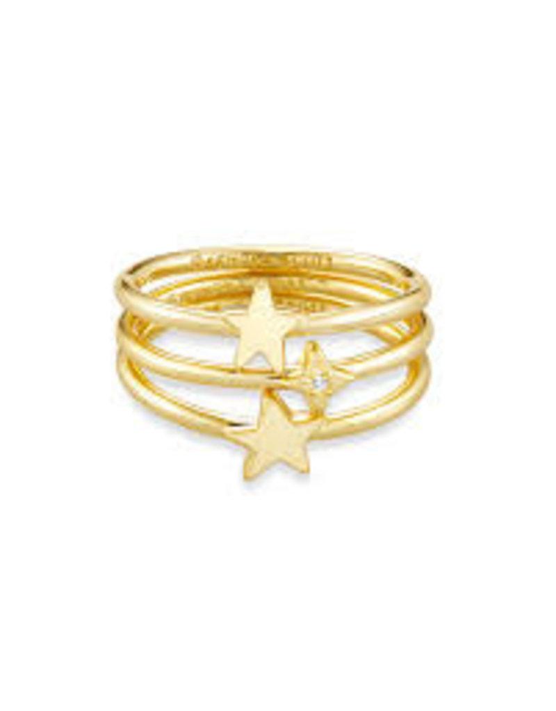 Kendra Scott Jae Star Ring Set