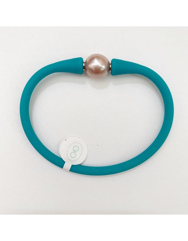 Gresham Jewelry Maui Bracelet - Pink Pearl - Bright