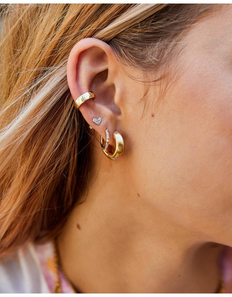Kendra Scott Mikki Huggie Earring - Metal