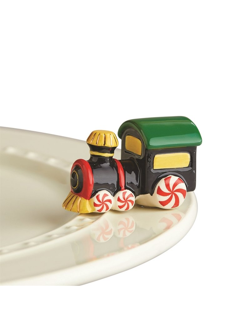 Nora Fleming St Jude. All Aboard Mini RETIRED