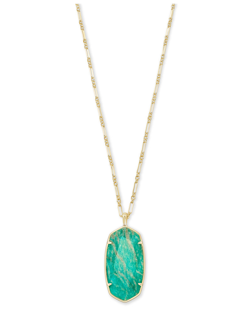 Kendra Scott Faceted Reid Necklace - Seasonal Colors