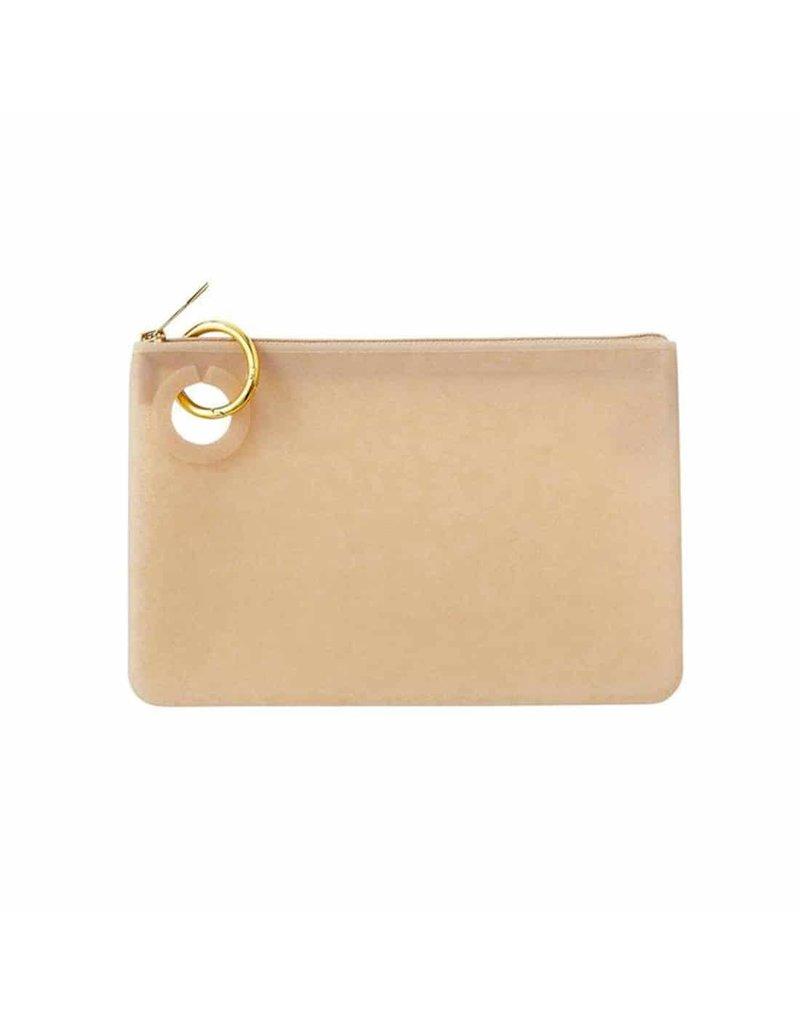 O-Venture Silicone Pouch Gold Confetti