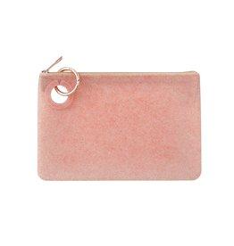 O-Venture Silicone Pouch Rose Gold Confetti