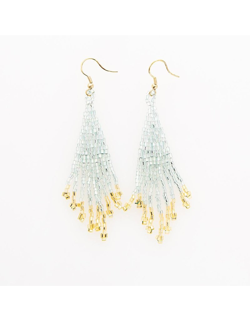 Ink + Alloy Small Fringe Earring 3.75""