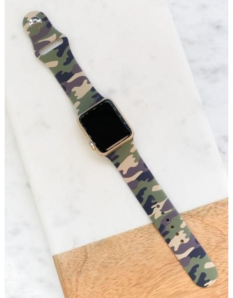 Prep Obsessed Silicone Watch Band