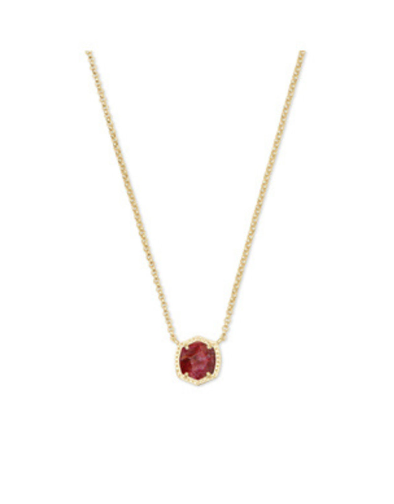 Kendra Scott Davie Short Pendant - Seasonal Colors