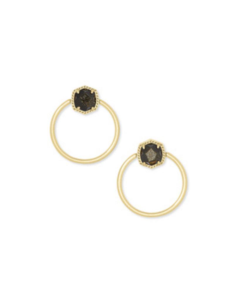 Kendra Scott Davie Hoop Earring - Seasonal Color
