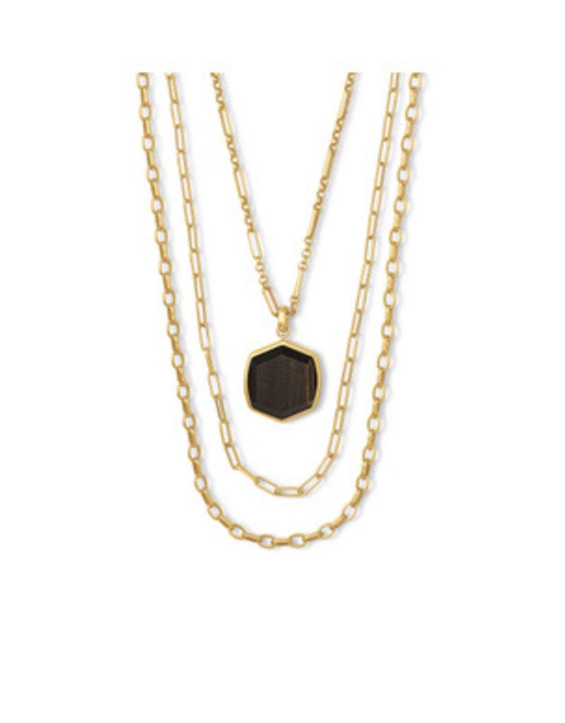 Kendra Scott Davis Multi Strand Necklace - Seasonal Colors
