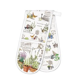 Michel Design Works Country Life Double Oven Glove