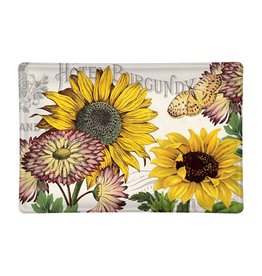Michel Design Works Sunflower Glass Soap Dish