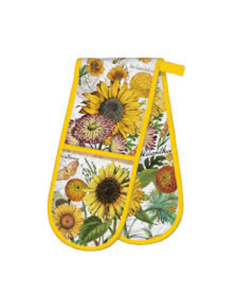 Michel Design Works Sunflower Double Oven Glove