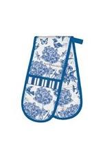 Michel Design Works Indigo Cotton Double Oven Glove