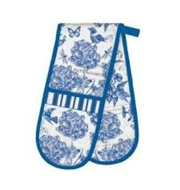 Michel Design Works Indigo Cotton Double Oven Glove
