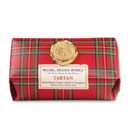 Michel Design Works Tartan Large Bath Soap Bar
